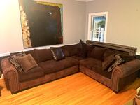 Super cozy sectional sofa priced to move
