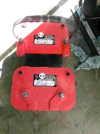 red and black Lincoln Electric welding machine West Palm Beach, 33409