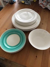 Plates and bowl