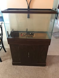 29 gallon aquarium tank and stand 15 km
