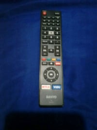SANYO TV REMOTE  WITH THE NETFLIX & VUDU  BUTTONS. Edmonton, T6E 4S6