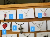 Jewelry made by local artist looking to get her start