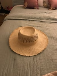 brown and white fedora hat Fullerton, 92833