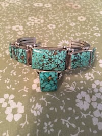 Pilot Mountain Turquoise Bracelet and Ring Albuquerque, 87104