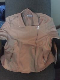 Pink Faux Leather Jacket West Kelowna