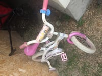 toddler's white and pink bicycle Calgary, T3J