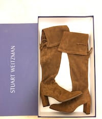Brand New Stuart Weitzman Over the Knees Boots Burnaby, V3J