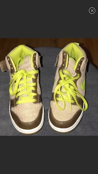 Kids Nike Dunk Shrek Sneakers Canal Winchester