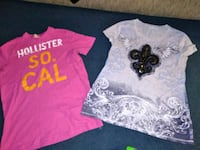 Sz M shirts Hollister and Cato $10 for both Warsaw, 46582