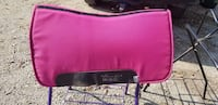 Pink professional choice SMX air ride saddle pad Morning View, 41063