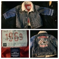 Gap Jean jacket  18-24months Lake Country