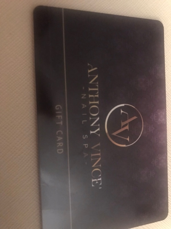 Anthony Vince Salon Gift Card