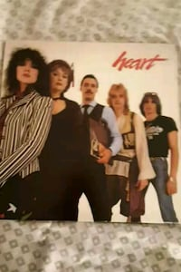 Heart double vinyl album La Plata, 20646