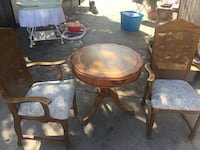 Wooden table with two chairs set Laredo, 78046