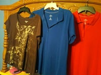 two blue and black long-sleeved dress Richmond, 77469
