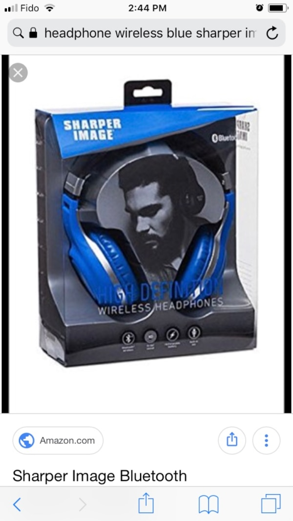 Sharper Image Bluetooth Headphone