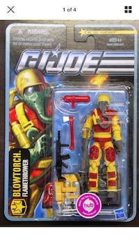 GI Joe PURSUIT OF COBRA - BLOWTORCH Flamethrower Action Figure Coquitlam