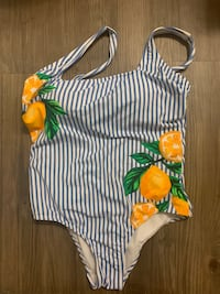 Swimsuit striped size large