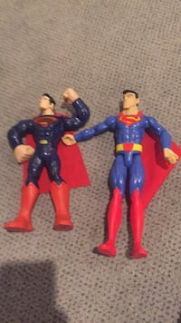 Two Superman Toys. One makes sounds but needs new batteries. Vaughan, L4J 5L7