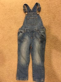 Baby Gap Jean Overalls Size 2 Toddler