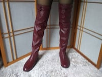 FOREVER Thigh high boots for woman, size 7.5 London