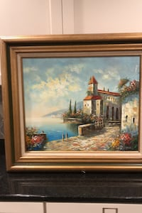 Painting Italian scenery Chester Springs, 19425
