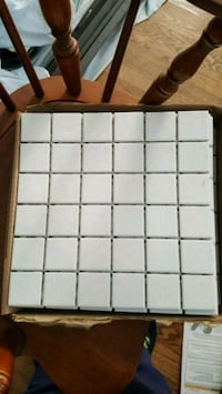 White tile 10 pieces  Lansdale