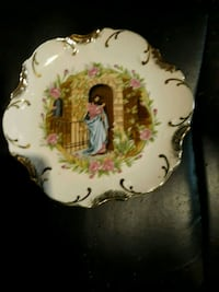 24k Gold plated biblicle decorative plates Oklahoma City, 73127