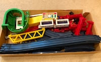 TOMY train set - incomplete - missing engine  Vienna, 22180