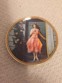 Norman Rockwell Collector Plate.