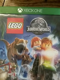 Xbox One Lego Jurassic World game case Clearfield, 16830