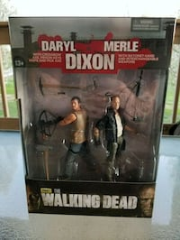 McFarlene Walking Dead Daryl and Merle