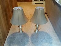 two white-and-gray table lamps Camino, 95709
