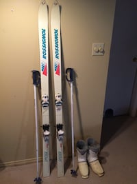 Rossignol skis, with boots Oakville, L6H 2Z1
