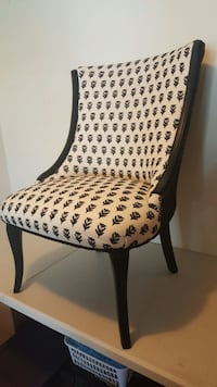 BLACK and WHITE DUAL PRINT ACCENT CHAIR North Charleston, 29406