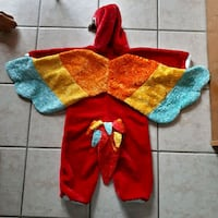 Parrot costume - fits 3-4 year old London, N6C 5X2