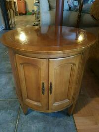 Fruitwood end table or night table