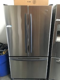 stainless steel french door refrigerator