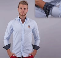 Wooden button shirt/camisa con boton de maderac260 Perth Amboy, 08861