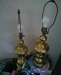 Gold lamps just needs shades works great  Odenton, 21113