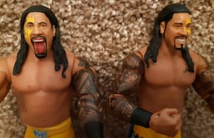 """7"""" WWE JIMMY & JEY USO Day 1 Mattel Wrestling Figures Pick-up in Newma"""
