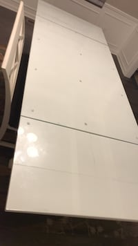 Dining table with bench and 4 chairs on sale