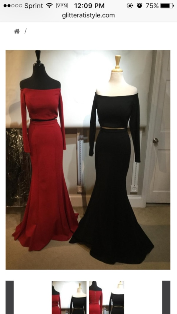 5a1b1d4737 Used Jovani exclusive prom dress for sale in Putnam - letgo