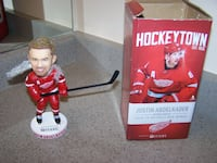 Justin Abdelkader Bobblehead 1/8/19 Detroit Red Wings  Vaughan