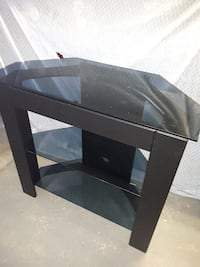 Black TV stand Chatham-Kent