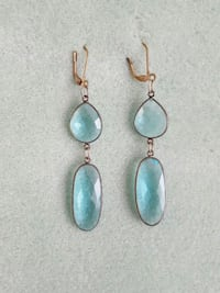 "3""dangle semi-precious gemstone earrings Arlington Heights, 60004"