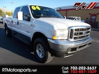 2004 Ford F-250 SD Lariat Crew Cab Long Bed 4WD Las Vegas