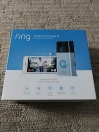 Ring video doorbell 2 + two rechargeable batteries Tacoma, 98402