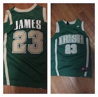 green and white Nike basketball jersey Baltimore, 21213