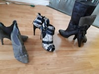 Shoes and boots...1 for $ 25 or 2 for $40  Coquitlam, V3E 1J7